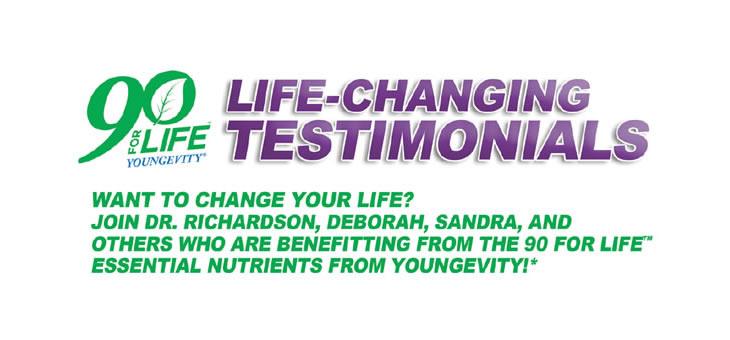 Youngevity Testimonials